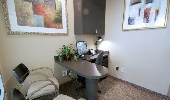Oral surgery office consultation room