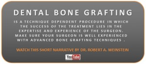 dental bone graft is not as scary as you think