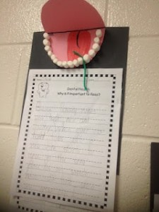 Marshmallow Teeth Project- Ironic?
