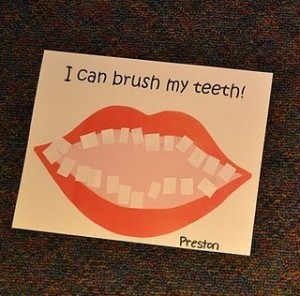 I Can Brush My Teeth Dental Educational Project