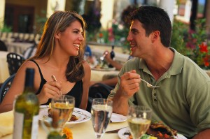 dentures can make eating out difficult